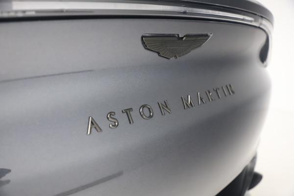 New 2021 Aston Martin DBX for sale $208,786 at Maserati of Westport in Westport CT 06880 22