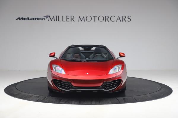 Used 2013 McLaren MP4-12C Spider for sale $134,900 at Maserati of Westport in Westport CT 06880 12