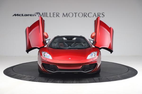 Used 2013 McLaren MP4-12C Spider for sale $134,900 at Maserati of Westport in Westport CT 06880 13