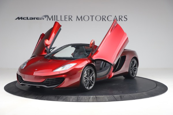 Used 2013 McLaren MP4-12C Spider for sale $134,900 at Maserati of Westport in Westport CT 06880 14