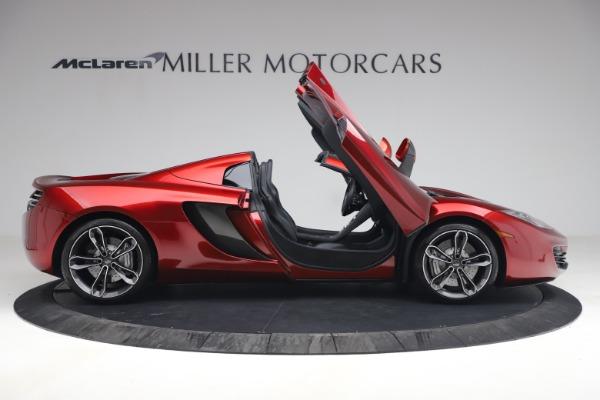 Used 2013 McLaren MP4-12C Spider for sale $134,900 at Maserati of Westport in Westport CT 06880 19