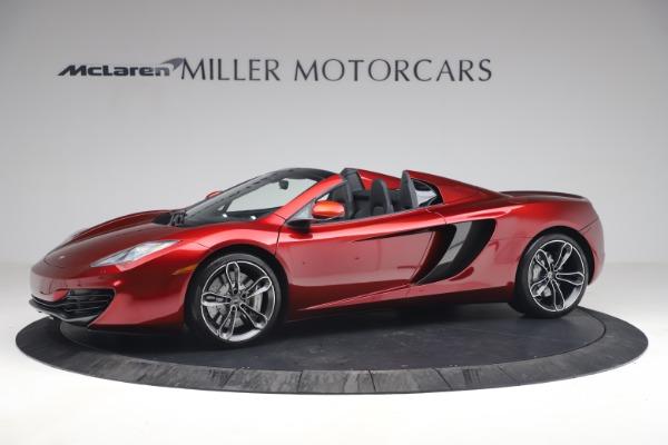 Used 2013 McLaren MP4-12C Spider for sale $134,900 at Maserati of Westport in Westport CT 06880 2