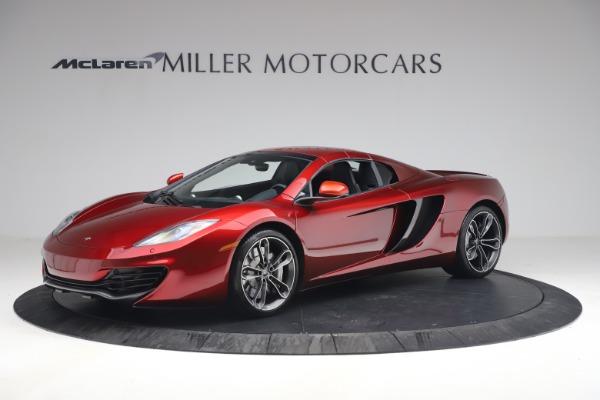 Used 2013 McLaren MP4-12C Spider for sale $134,900 at Maserati of Westport in Westport CT 06880 23