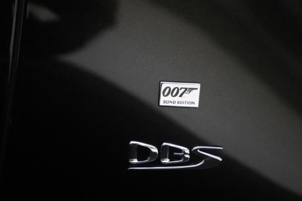New 2021 Aston Martin DBS Superleggera 007 for sale $391,211 at Maserati of Westport in Westport CT 06880 26