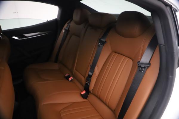 New 2021 Maserati Ghibli SQ4 for sale $85,804 at Maserati of Westport in Westport CT 06880 21