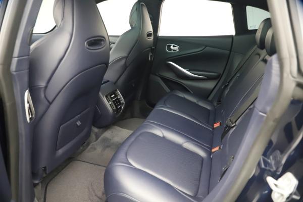 New 2021 Aston Martin DBX for sale $195,786 at Maserati of Westport in Westport CT 06880 18