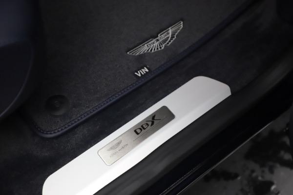 New 2021 Aston Martin DBX for sale $195,786 at Maserati of Westport in Westport CT 06880 24