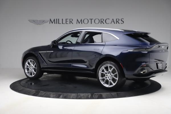 New 2021 Aston Martin DBX for sale $195,786 at Maserati of Westport in Westport CT 06880 3
