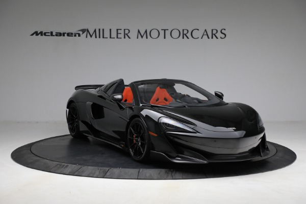 Used 2020 McLaren 600LT Spider for sale Call for price at Maserati of Westport in Westport CT 06880 11