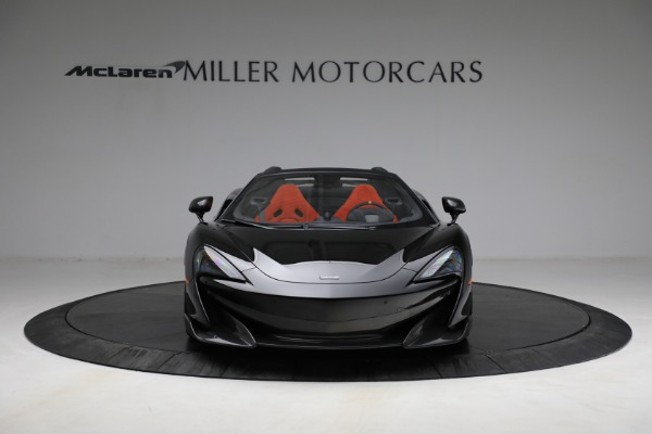Used 2020 McLaren 600LT Spider for sale Call for price at Maserati of Westport in Westport CT 06880 12