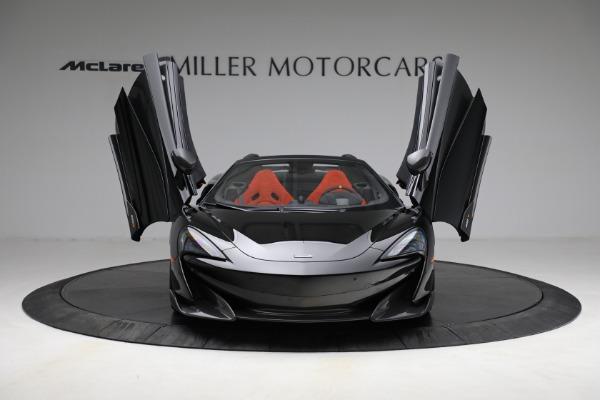 Used 2020 McLaren 600LT Spider for sale Call for price at Maserati of Westport in Westport CT 06880 13