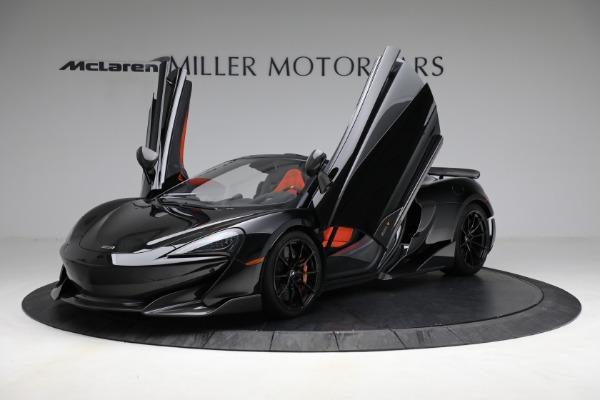 Used 2020 McLaren 600LT Spider for sale Call for price at Maserati of Westport in Westport CT 06880 14