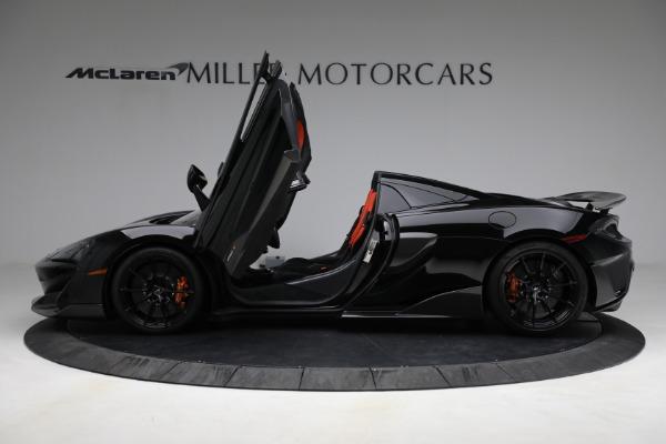 Used 2020 McLaren 600LT Spider for sale Call for price at Maserati of Westport in Westport CT 06880 15