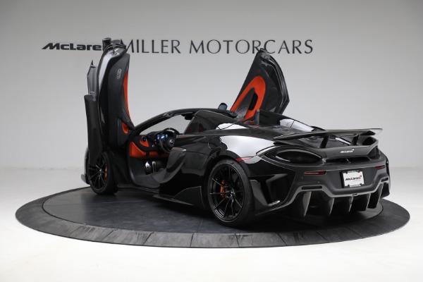 Used 2020 McLaren 600LT Spider for sale Call for price at Maserati of Westport in Westport CT 06880 16