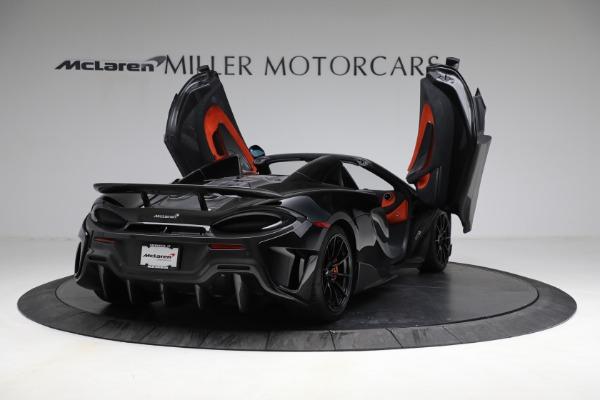 Used 2020 McLaren 600LT Spider for sale Call for price at Maserati of Westport in Westport CT 06880 17