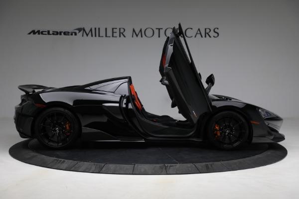 Used 2020 McLaren 600LT Spider for sale Call for price at Maserati of Westport in Westport CT 06880 18
