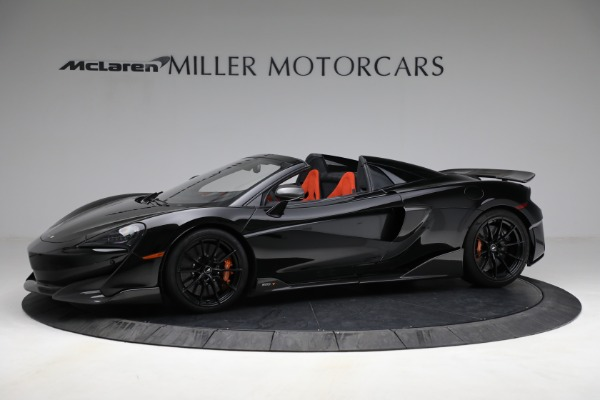 Used 2020 McLaren 600LT Spider for sale Call for price at Maserati of Westport in Westport CT 06880 2