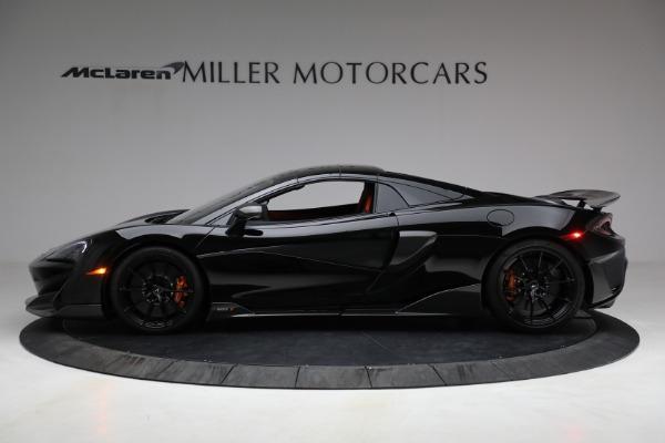 Used 2020 McLaren 600LT Spider for sale Call for price at Maserati of Westport in Westport CT 06880 21
