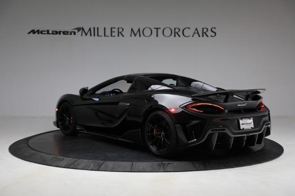 Used 2020 McLaren 600LT Spider for sale Call for price at Maserati of Westport in Westport CT 06880 22