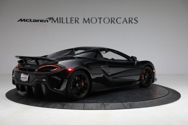 Used 2020 McLaren 600LT Spider for sale Call for price at Maserati of Westport in Westport CT 06880 24