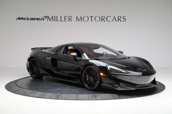 Used 2020 McLaren 600LT Spider for sale Call for price at Maserati of Westport in Westport CT 06880 26