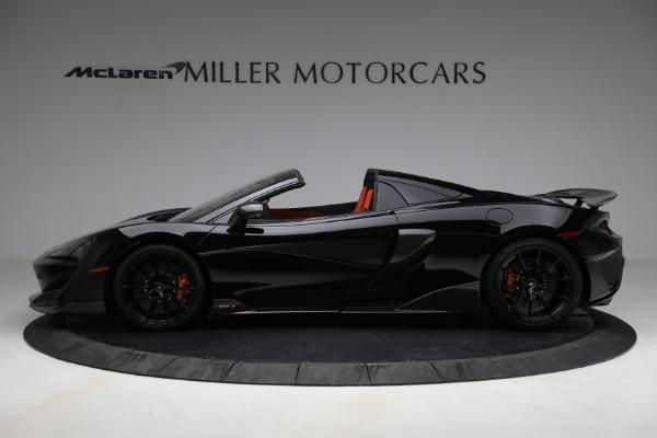 Used 2020 McLaren 600LT Spider for sale Call for price at Maserati of Westport in Westport CT 06880 3