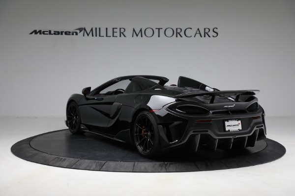 Used 2020 McLaren 600LT Spider for sale Call for price at Maserati of Westport in Westport CT 06880 5