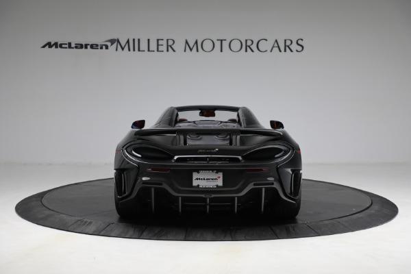 Used 2020 McLaren 600LT Spider for sale Call for price at Maserati of Westport in Westport CT 06880 6
