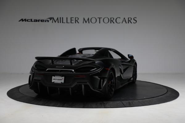 Used 2020 McLaren 600LT Spider for sale Call for price at Maserati of Westport in Westport CT 06880 7