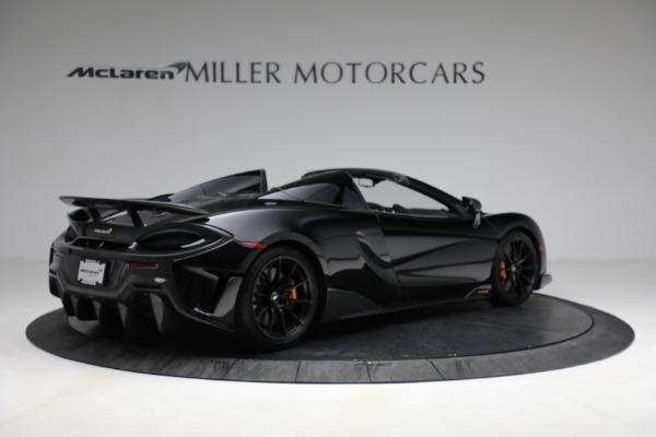 Used 2020 McLaren 600LT Spider for sale Call for price at Maserati of Westport in Westport CT 06880 8