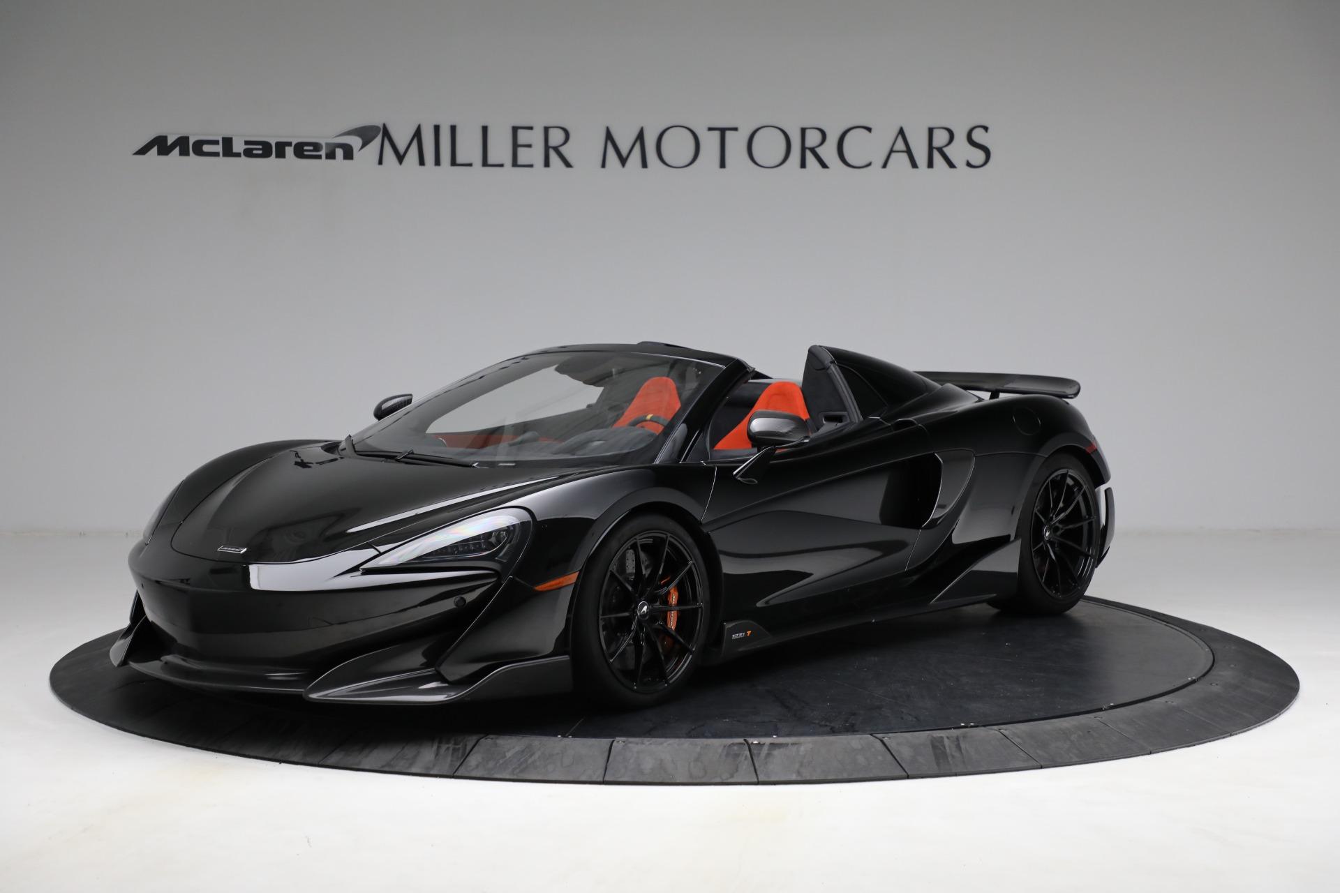Used 2020 McLaren 600LT Spider for sale Call for price at Maserati of Westport in Westport CT 06880 1