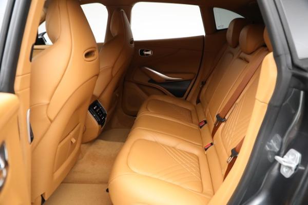 New 2021 Aston Martin DBX for sale $203,886 at Maserati of Westport in Westport CT 06880 15