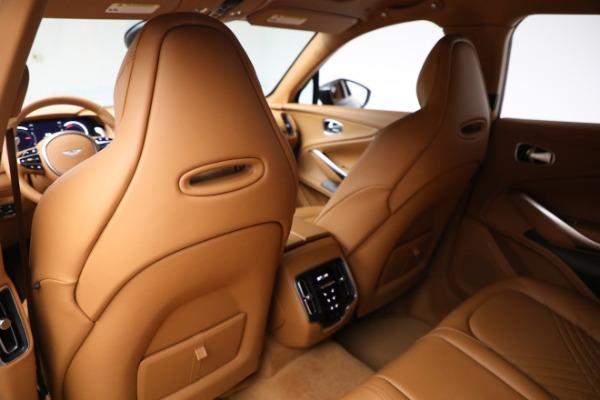 New 2021 Aston Martin DBX for sale $203,886 at Maserati of Westport in Westport CT 06880 16