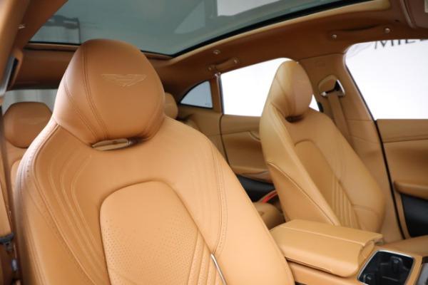 New 2021 Aston Martin DBX for sale $203,886 at Maserati of Westport in Westport CT 06880 18