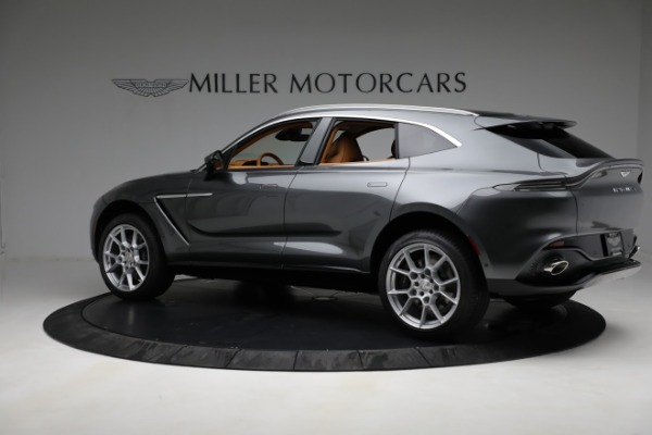 New 2021 Aston Martin DBX for sale $203,886 at Maserati of Westport in Westport CT 06880 3