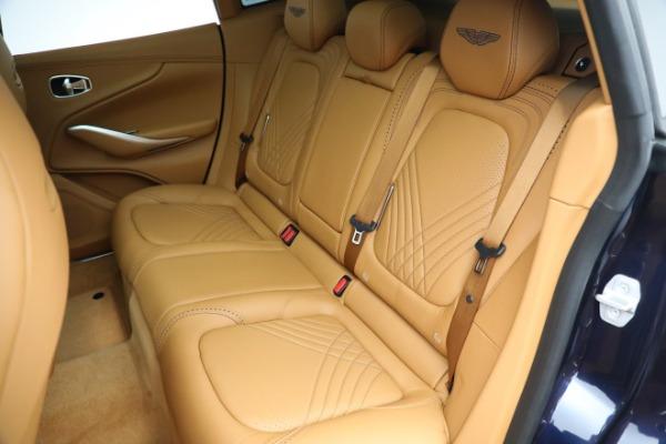 New 2021 Aston Martin DBX for sale $209,586 at Maserati of Westport in Westport CT 06880 18