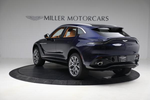 New 2021 Aston Martin DBX for sale $209,586 at Maserati of Westport in Westport CT 06880 4