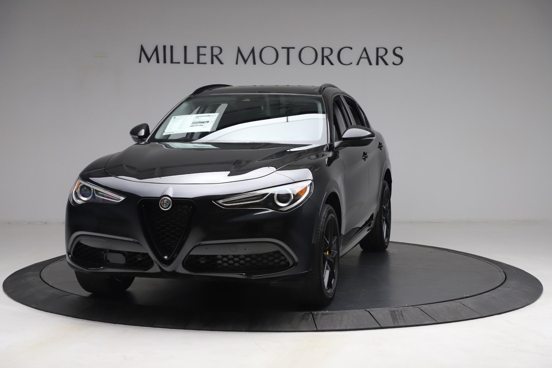 New 2021 Alfa Romeo Stelvio Ti for sale $51,955 at Maserati of Westport in Westport CT 06880 1