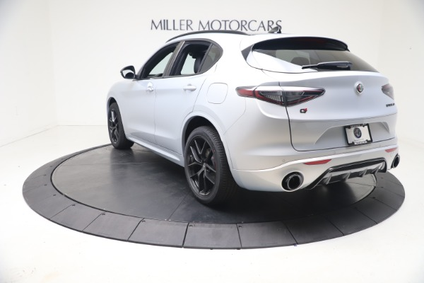 New 2021 Alfa Romeo Stelvio Ti Sport Q4 for sale $57,200 at Maserati of Westport in Westport CT 06880 5