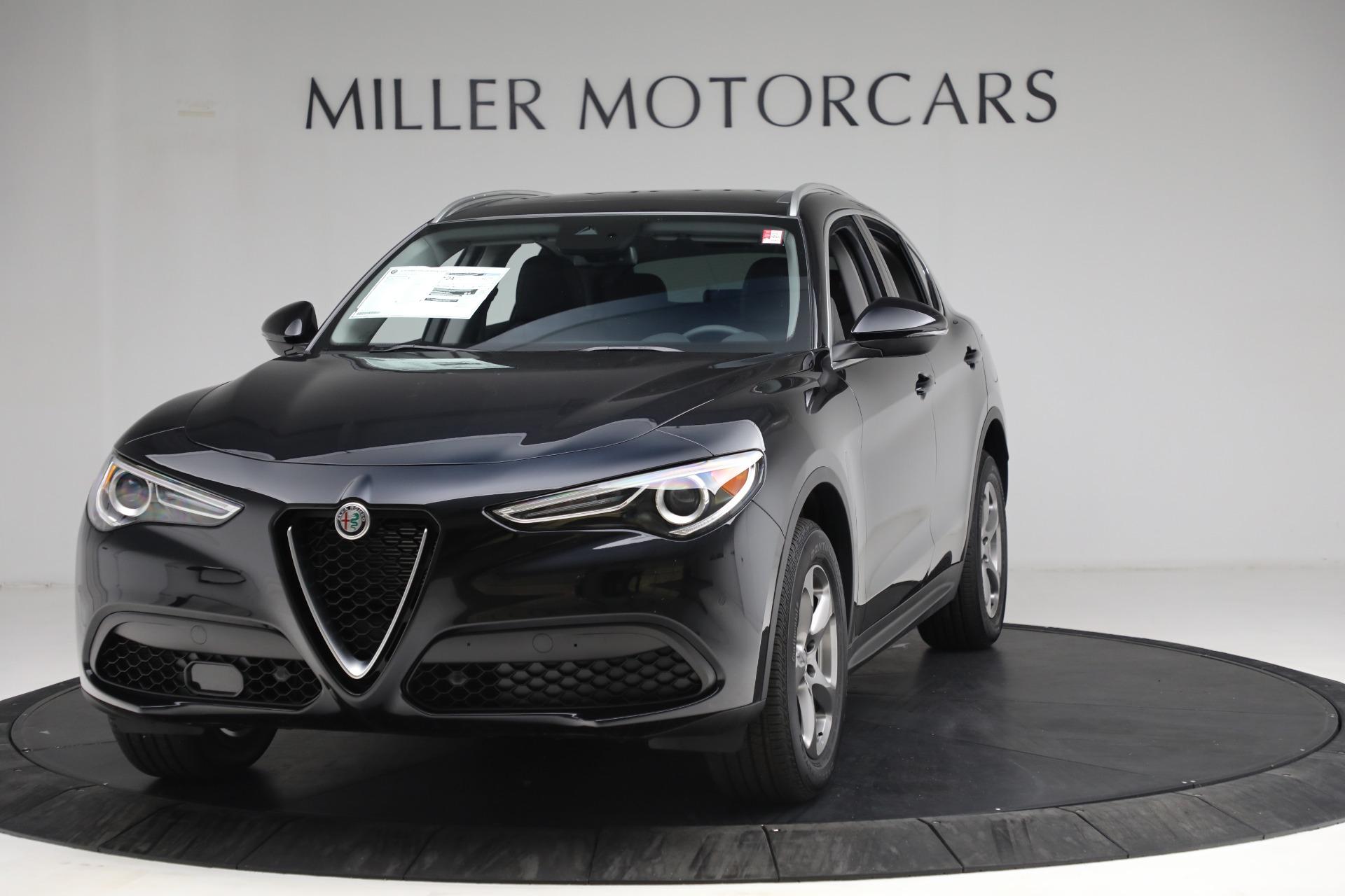 New 2021 Alfa Romeo Stelvio Q4 for sale $49,945 at Maserati of Westport in Westport CT 06880 1