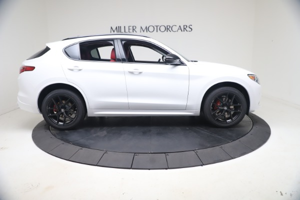 New 2021 Alfa Romeo Stelvio Ti Q4 for sale $53,740 at Maserati of Westport in Westport CT 06880 10