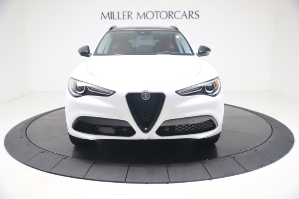 New 2021 Alfa Romeo Stelvio Ti Q4 for sale $53,740 at Maserati of Westport in Westport CT 06880 13