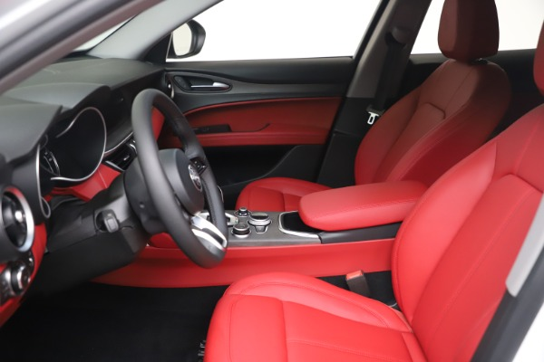 New 2021 Alfa Romeo Stelvio Ti Q4 for sale $53,740 at Maserati of Westport in Westport CT 06880 15