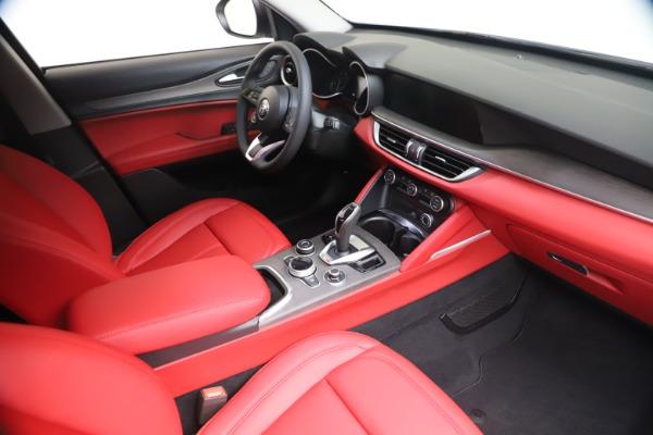 New 2021 Alfa Romeo Stelvio Ti Q4 for sale $53,740 at Maserati of Westport in Westport CT 06880 19