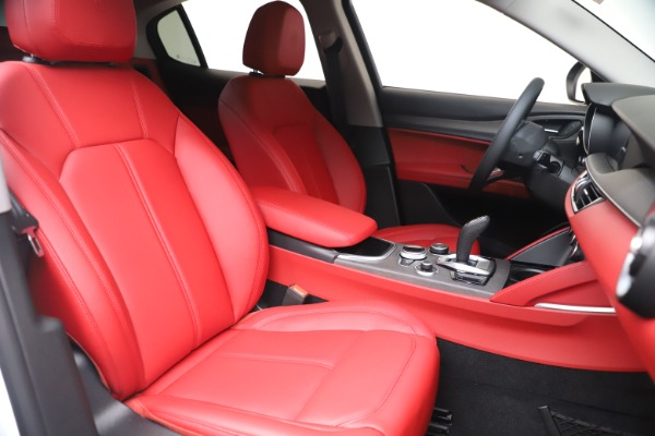 New 2021 Alfa Romeo Stelvio Ti Q4 for sale $53,740 at Maserati of Westport in Westport CT 06880 21