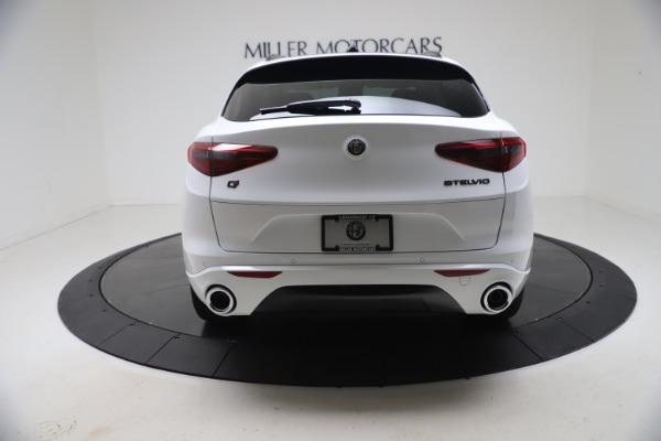 New 2021 Alfa Romeo Stelvio Ti Q4 for sale $53,740 at Maserati of Westport in Westport CT 06880 6