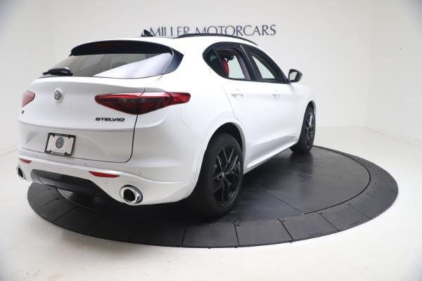 New 2021 Alfa Romeo Stelvio Ti Q4 for sale $53,740 at Maserati of Westport in Westport CT 06880 8