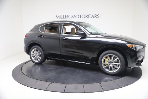 New 2021 Alfa Romeo Stelvio Ti Q4 for sale $54,755 at Maserati of Westport in Westport CT 06880 10