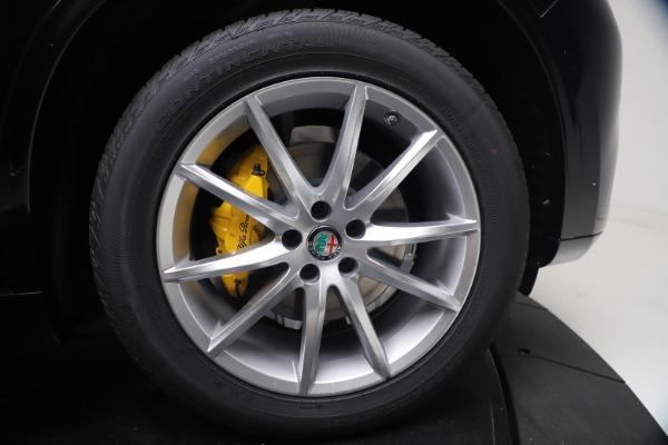 New 2021 Alfa Romeo Stelvio Ti Q4 for sale $54,755 at Maserati of Westport in Westport CT 06880 13