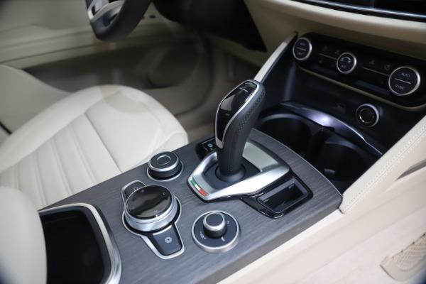 New 2021 Alfa Romeo Stelvio Ti Q4 for sale $54,755 at Maserati of Westport in Westport CT 06880 18
